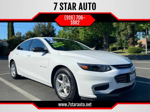 2017 Chevrolet Malibu for sale at 7 STAR AUTO in Sacramento CA