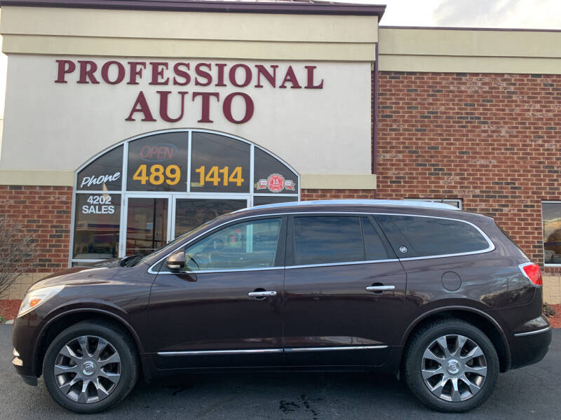 2016 Buick Enclave for sale at Professional Auto Sales & Service in Fort Wayne IN