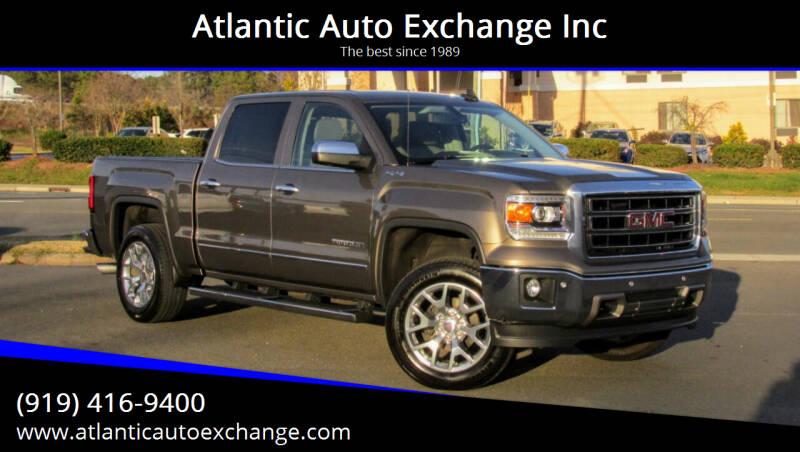 2015 GMC Sierra 1500 for sale at Atlantic Auto Exchange Inc in Durham NC