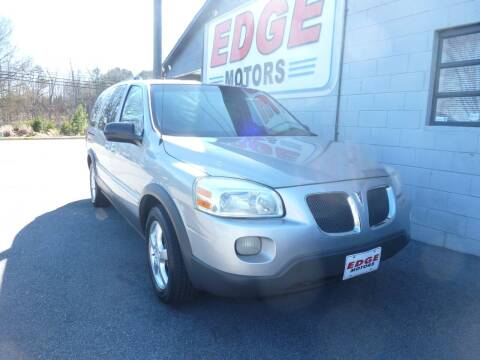 2005 Pontiac Montana SV6 for sale at Edge Motors in Mooresville NC