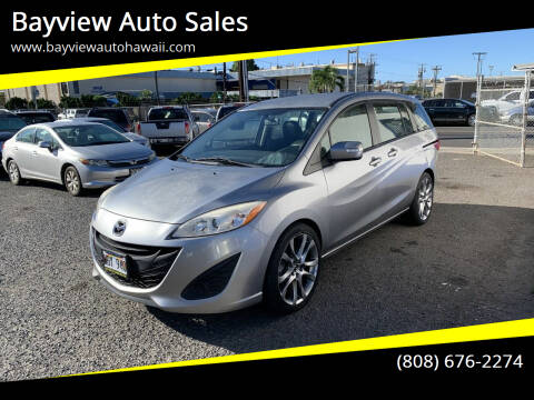 2014 Mazda MAZDA5 for sale at Bayview Auto Sales in Waipahu HI