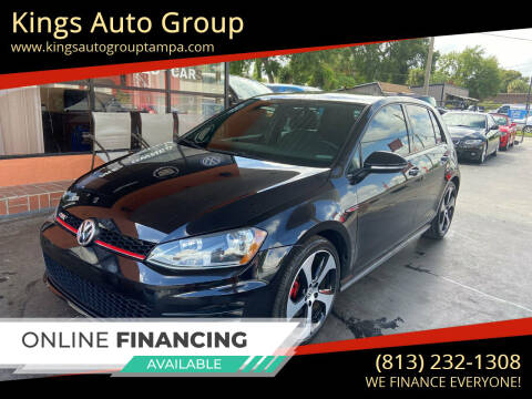 2017 Volkswagen Golf GTI for sale at Kings Auto Group in Tampa FL