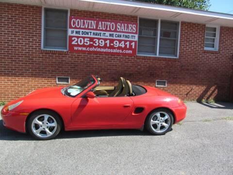 2001 Porsche Boxster for sale at Colvin Auto Sales in Tuscaloosa AL