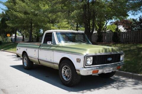 1971 Chevrolet C/K 20 Series for sale at INDY LUXURY MOTORSPORTS in Fishers IN