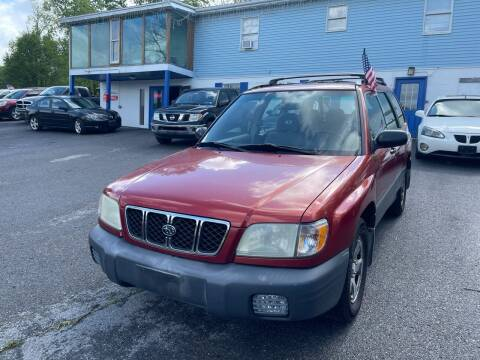 2001 Subaru Forester for sale at Noble PreOwned Auto Sales in Martinsburg WV