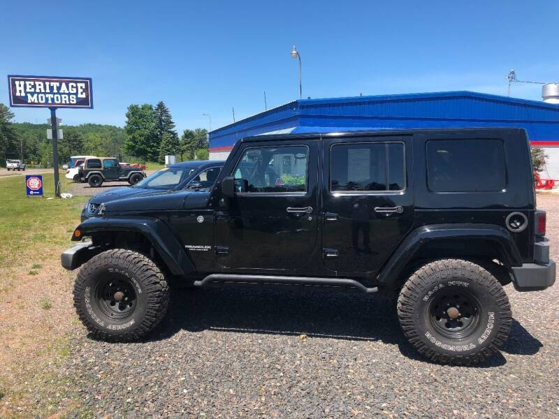 2008 Jeep Wrangler Unlimited for sale at LUTEYS Heritage Motors in Marquette MI