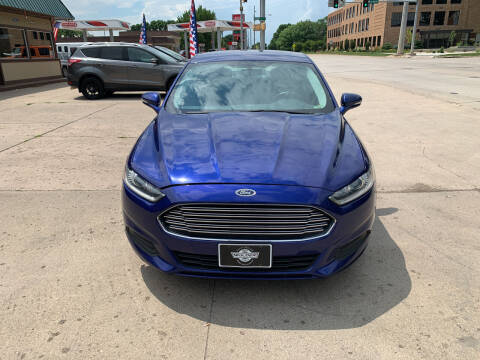 2014 Ford Fusion for sale at Mulder Auto Tire and Lube in Orange City IA