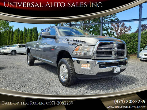 2012 RAM Ram Pickup 3500 for sale at Universal Auto Sales Inc in Salem OR