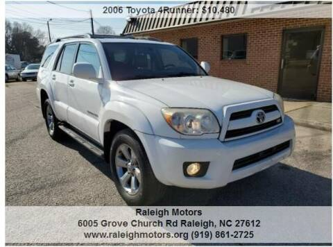 2006 Toyota 4Runner for sale at Raleigh Motors in Raleigh NC