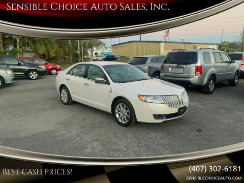2012 Lincoln MKZ for sale at Sensible Choice Auto Sales, Inc. in Longwood FL