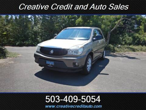 2005 Buick Rendezvous for sale at Creative Credit & Auto Sales in Salem OR