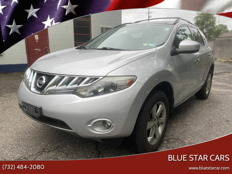 2010 Nissan Murano for sale at Blue Star Cars in Jamesburg NJ