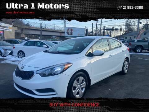 2016 Kia Forte for sale at Ultra 1 Motors in Pittsburgh PA
