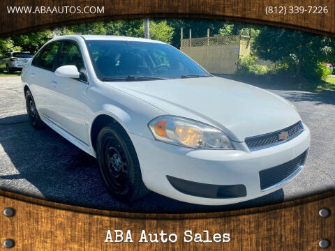 2013 Chevrolet Impala for sale at ABA Auto Sales in Bloomington IN