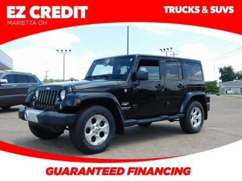 2014 Jeep Wrangler Unlimited for sale at Pioneer Family preowned autos in Williamstown WV