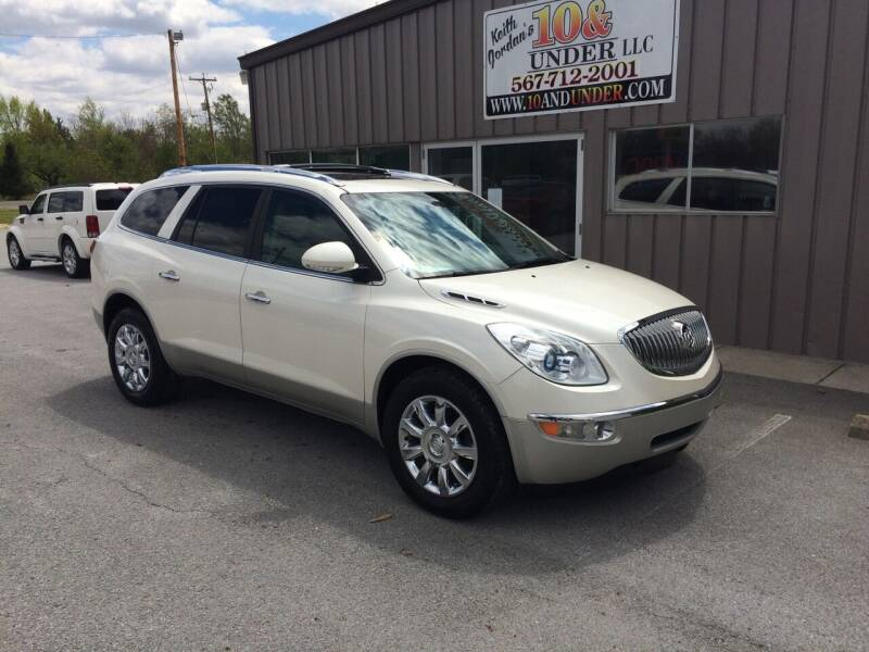 2011 Buick Enclave for sale at KEITH JORDAN'S 10 & UNDER in Lima OH