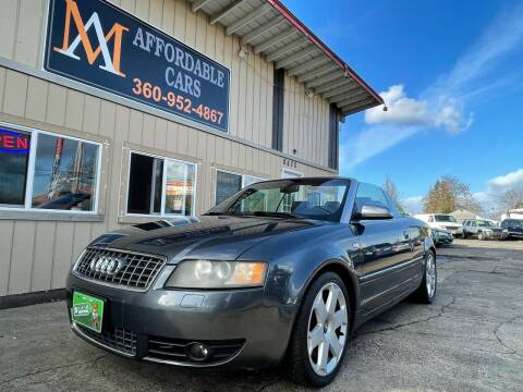 2004 Audi S4 for sale at M & A Affordable Cars in Vancouver WA