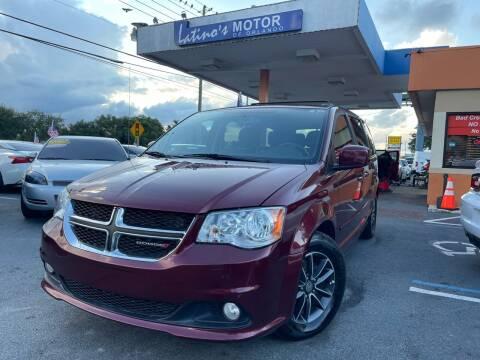 2017 Dodge Grand Caravan for sale at LATINOS MOTOR OF ORLANDO in Orlando FL