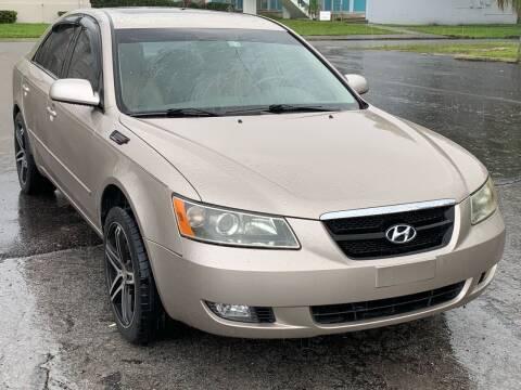 2007 Hyundai Sonata for sale at Consumer Auto Credit in Tampa FL