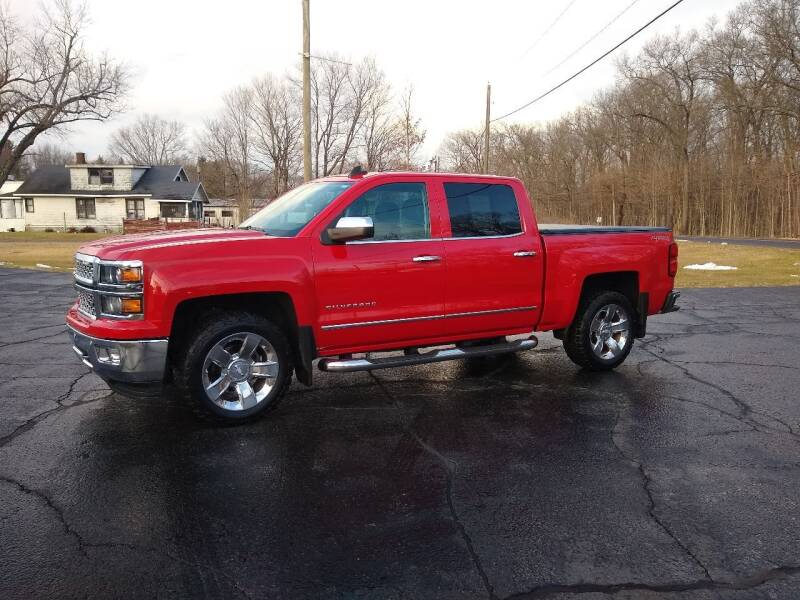 2015 Chevrolet Silverado 1500 for sale at Depue Auto Sales Inc in Paw Paw MI