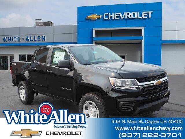 2021 Chevrolet Colorado for sale at WHITE-ALLEN CHEVROLET in Dayton OH