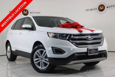 2018 Ford Edge for sale at INDY'S UNLIMITED MOTORS - UNLIMITED MOTORS in Westfield IN