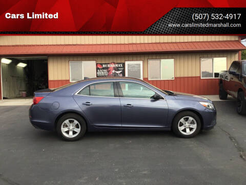 2013 Chevrolet Malibu for sale at Cars Limited in Marshall MN