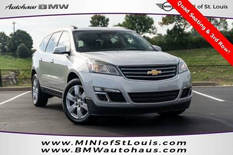 2017 Chevrolet Traverse for sale at Autohaus Group of St. Louis MO - 3015 South Hanley Road Lot in Saint Louis MO