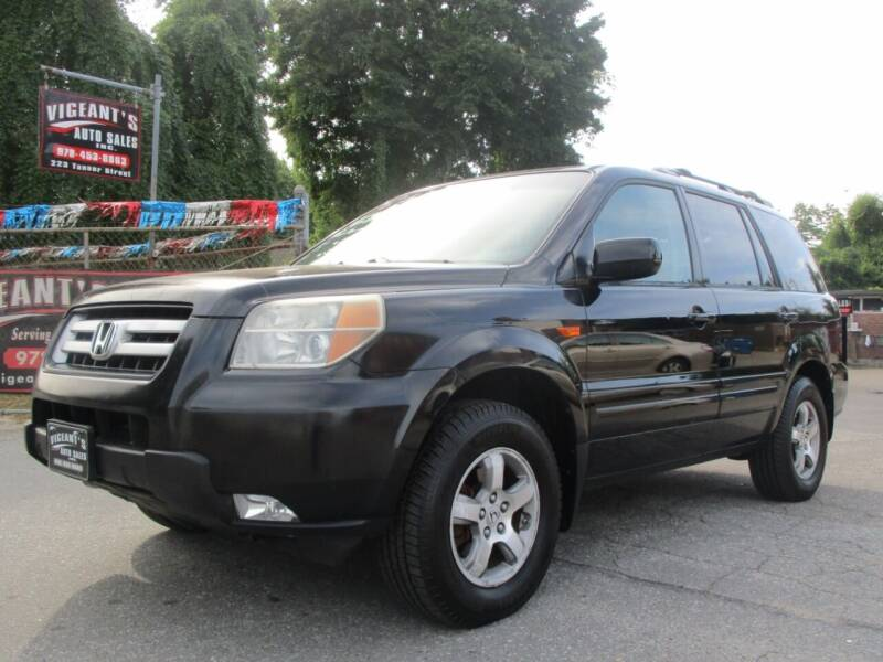 2006 Honda Pilot for sale at Vigeants Auto Sales Inc in Lowell MA