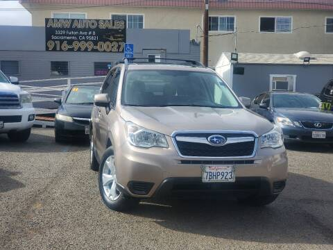 2014 Subaru Forester for sale at AMW Auto Sales in Sacramento CA
