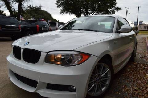 2012 BMW 1 Series for sale at E-Auto Groups in Dallas TX