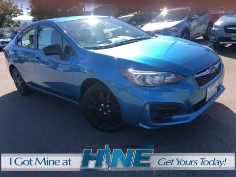 2018 Subaru Impreza for sale at John Hine Temecula in Temecula CA