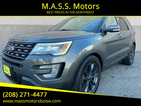 2017 Ford Explorer for sale at M.A.S.S. Motors in Boise ID