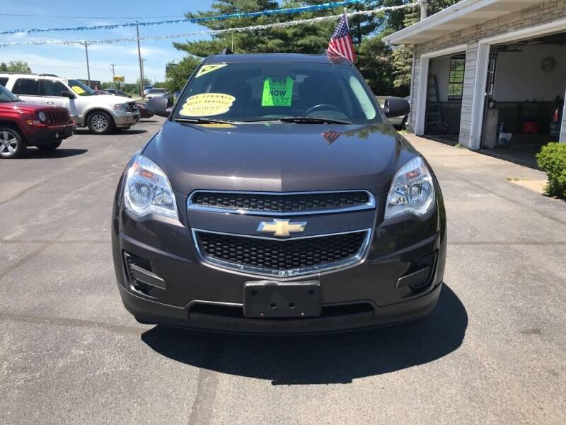 2015 Chevrolet Equinox for sale at Tonys Auto Sales Inc in Wheatfield IN