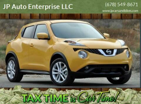 2015 Nissan JUKE for sale at JP Auto Enterprise LLC in Duluth GA