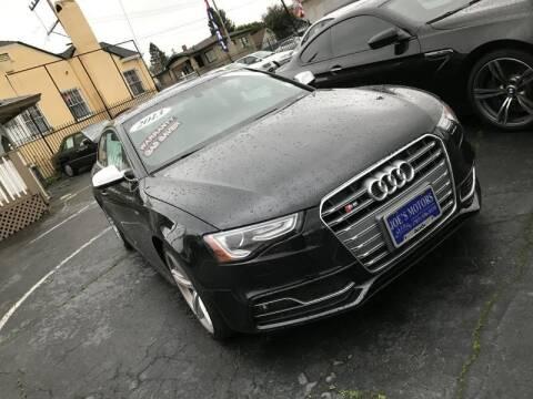 2013 Audi S5 for sale at Joe's Automobile in Vallejo CA