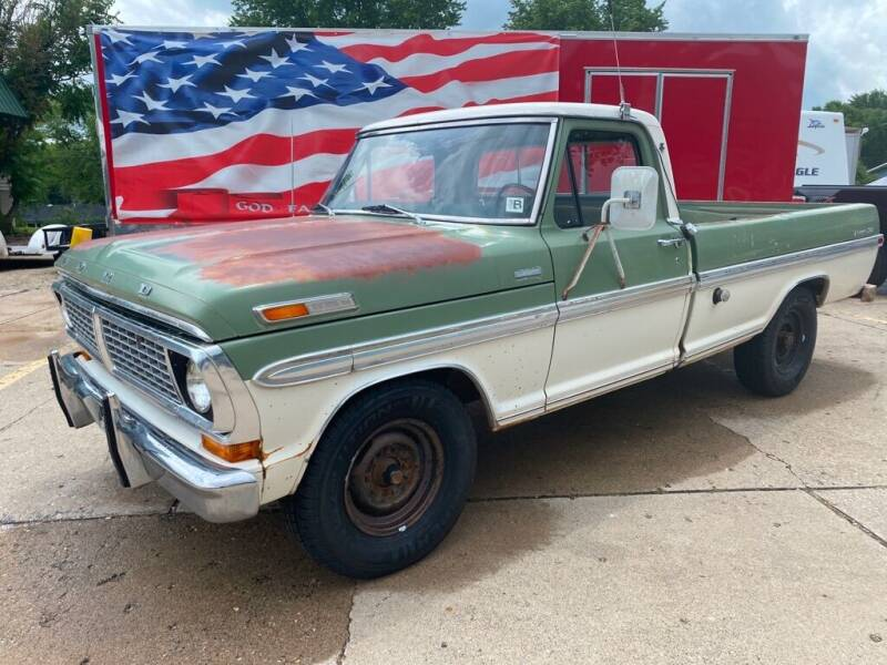 1970 Ford F-250 for sale at AutoSmart in Oswego IL