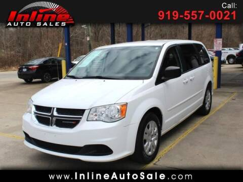 2014 Dodge Grand Caravan for sale at Inline Auto Sales in Fuquay Varina NC