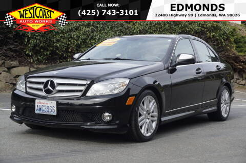 2008 Mercedes-Benz C-Class for sale at West Coast Auto Works in Edmonds WA