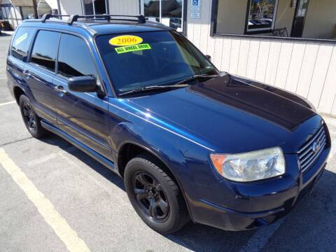2006 Subaru Forester for sale at BBL Auto Sales in Yakima WA