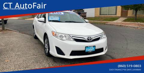 2014 Toyota Camry for sale at CT AutoFair in West Hartford CT