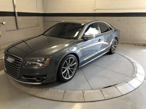 2013 Audi S8 for sale at Luxury Car Outlet in West Chicago IL