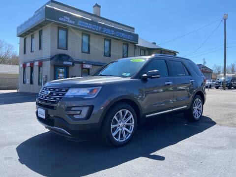 2017 Ford Explorer for sale at Sisson Pre-Owned in Uniontown PA