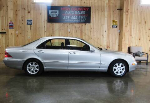 2000 Mercedes-Benz S-Class for sale at Boone NC Jeeps-High Country Auto Sales in Boone NC