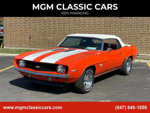 1969 Chevrolet Camaro for sale at MGM CLASSIC CARS in Addison, IL