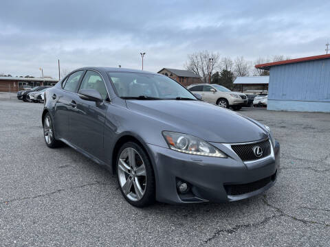 2012 Lexus IS 350 for sale at Signal Imports INC in Spartanburg SC