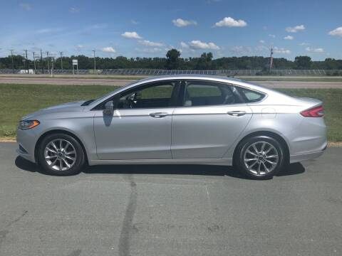 2017 Ford Fusion for sale at Whi-Con Auto Brokers in Shakopee MN
