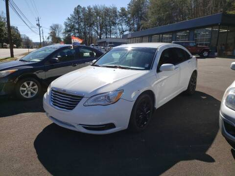 2013 Chrysler 200 for sale at Curtis Lewis Motor Co in Rockmart GA