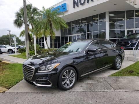 2018 Genesis G80 for sale at Mazda of North Miami in Miami FL