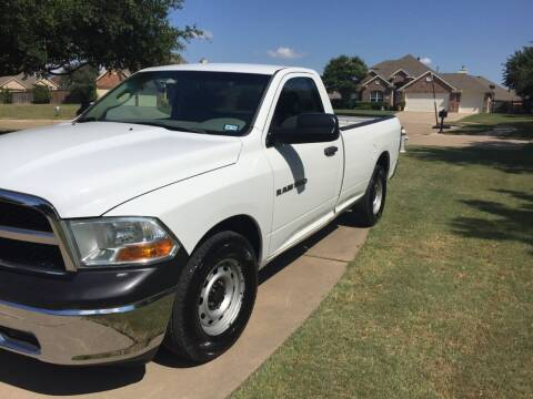 2011 RAM Ram Pickup 1500 for sale at Texas Auto Trailer Exchange in Cleburne TX